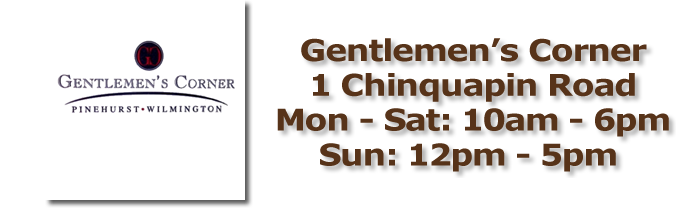 Gentlemen's Corner Pinehurst