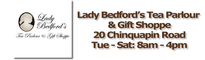 Lady Bedford's Tea Parlour Inside Pinehurst