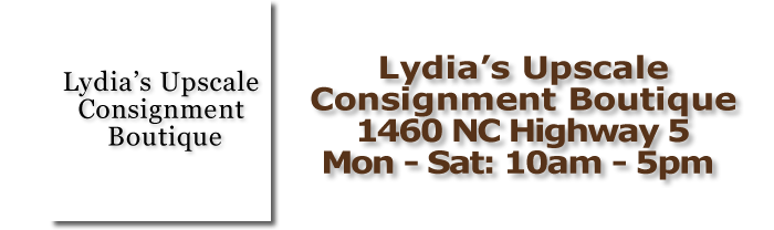 Lydia's Upscale Consignment Boutique Pinehurst, NC