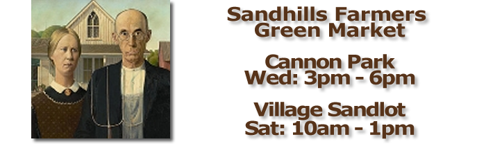 Sandhills Farmers Green Markett Inside Pinehurst